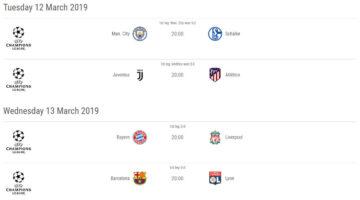 Champions League i Mars