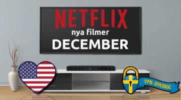 Netflix nya filmer December