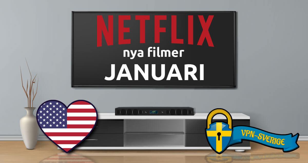 Netflix nya filmer Januari