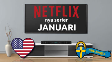 Netflix nya TV-serier Januari