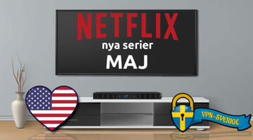 Netflix nya serier Maj