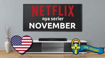 Netflix nya TV-serier November
