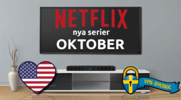 Netflix nya TV-serier Oktober