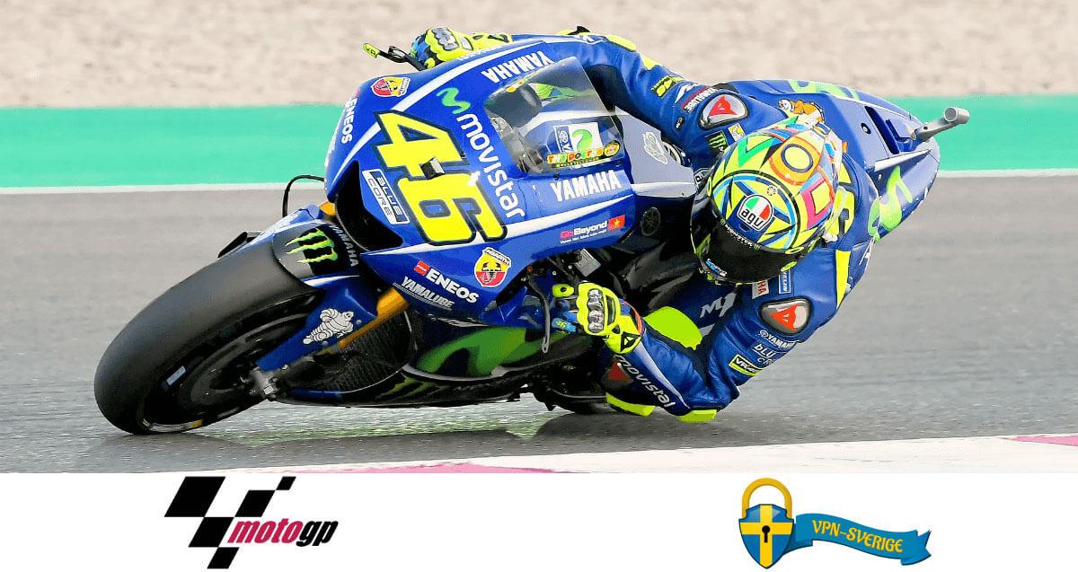 Se MotoGP live gratis online