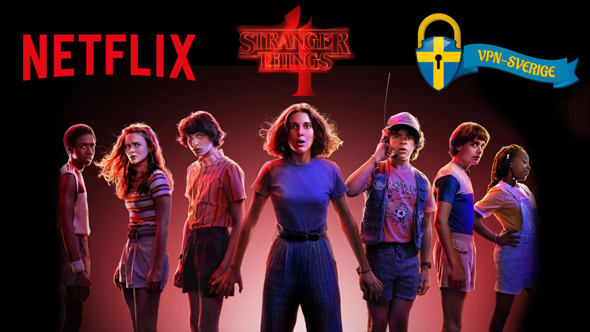 Stranger Things säsong 4 Netflix