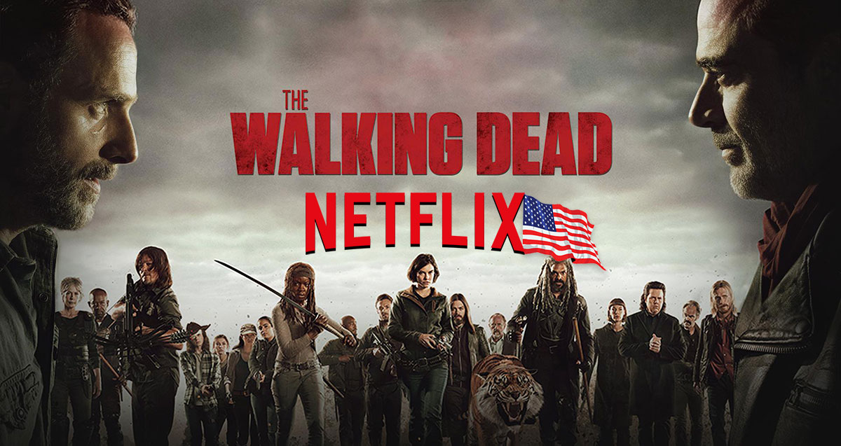 The Walking Dead Netflix USA