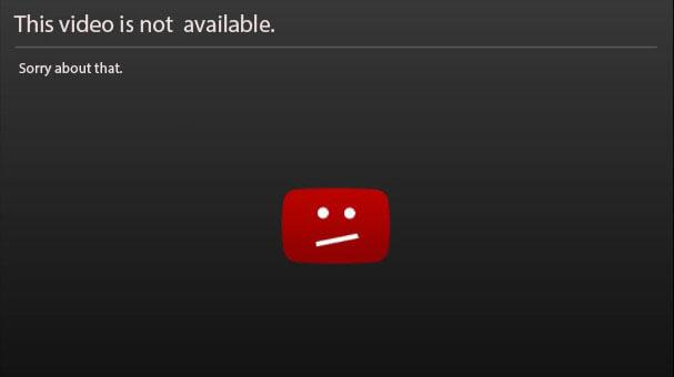 Videon är inte tillgänglig YouTube
